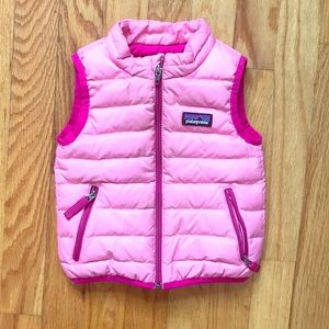 Patagonia Jackets Coats Baby Down Sweater Vest Size 12m Poshmark